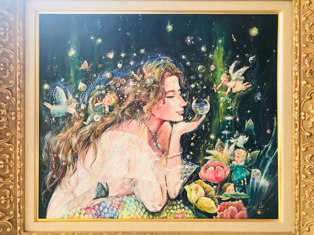 ~オーダー絵画(wedding mermaid 仮題)~